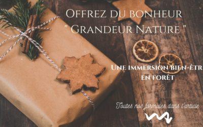 Carte cadeau personnalisée : Offrez du bonheur grandeur nature !