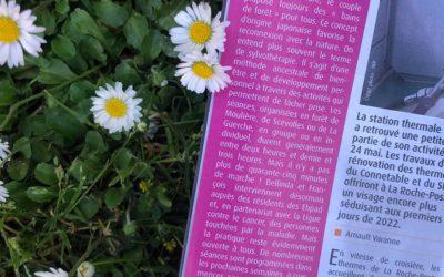 Le 7, journal local, parle de Jardin Passion Nature !