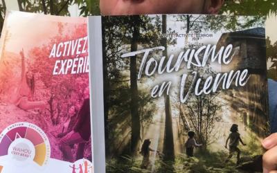 «On parle de nous ! » Jardin Passion Nature dans le magazine Tourisme en Vienne